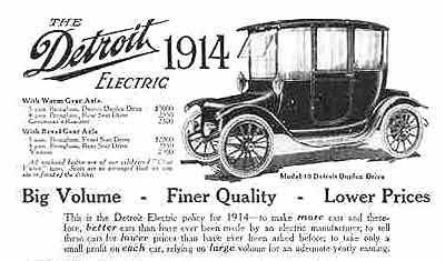 Anderson Carriage Co., Anderson Electric Car Co., Detroit Electric ...