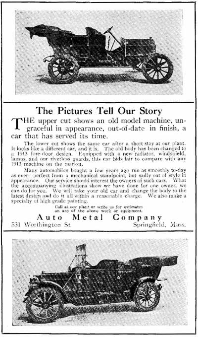 Auto Metal Body Corp All Co Michael H Smith George A Hupmobile Checker Cab Jeremiah J Moynahan Vehicle Works