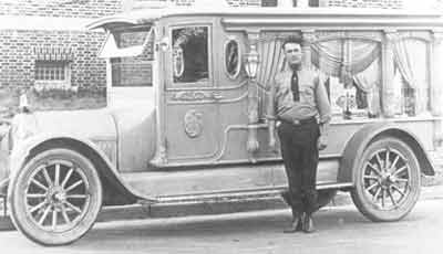J paul bateman co bateman coach bridgeton hearse for Motor vehicle vineland nj