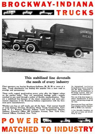 brockway truck history part 2  george a  brockway  brockway history  brockway motor truck co