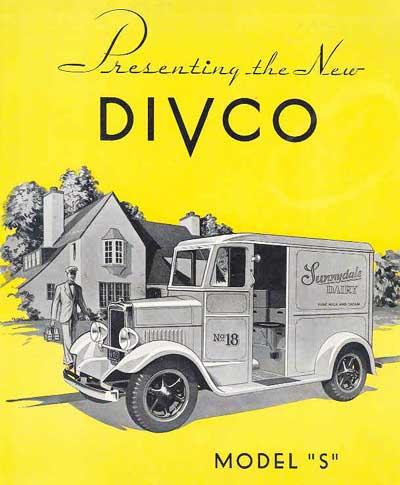 DIVCO part 1, milk truck, Divco Model U, Detroit Industrial