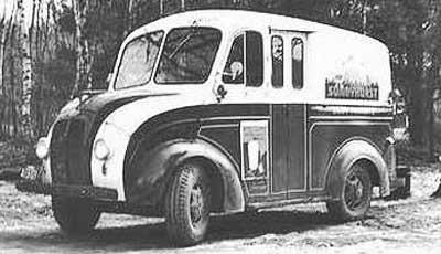 DIVCO part 1, milk truck, Divco Model U, Detroit Industrial Vehicle