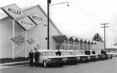 Miller-Meteor, Cadillac, Hearse, Ambulance, M-M Coach, Miller-Meteor