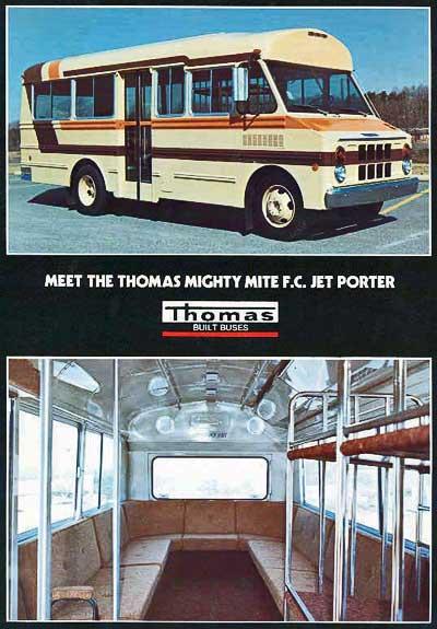 Thomas school bus history,Perley A  Thomas Car Works, Thomas Built