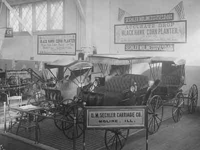 Wright Carriage Body Co C W Wright Moline D M