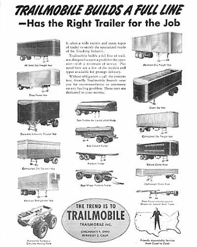 trailmobile pullman trailmobile lapeer trailmobile trailer rh coachbuilt com Great Dane Trailers Vintage Trailmobile