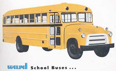 Ward Body Works, Ward School Bus Mfg , IC Bus, Ward School