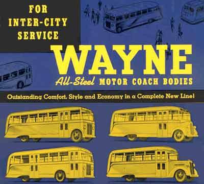 Wayne Works Part I, Wayne Corp , Divco-Wayne Corp , School